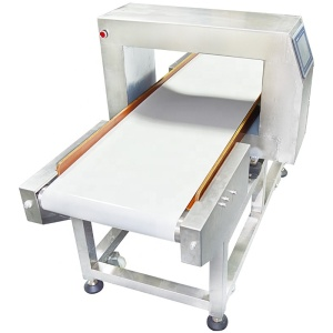 High Quality Conveyor Belt Food Metal Detector used in detection of meat, mushrooms, candy, food, fruits and vegetables
