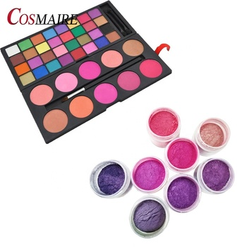 Private Label Metallic Makeup Pearl Eye Shadow Pigment Powder Cosmetic