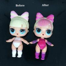 1 шт., оригинальные куклы, можно выбрать 8 см, большие сестры, без одежды, аксессуары, L.O.L, сюрприз, игрушка для девочек, подарок на день рождени...(Китай)