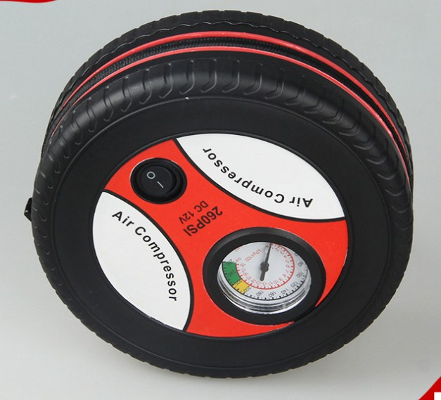 12V Auto Inflatable Pumps Electric Tire inflation 260psi Mini Portable Car Air Compressor