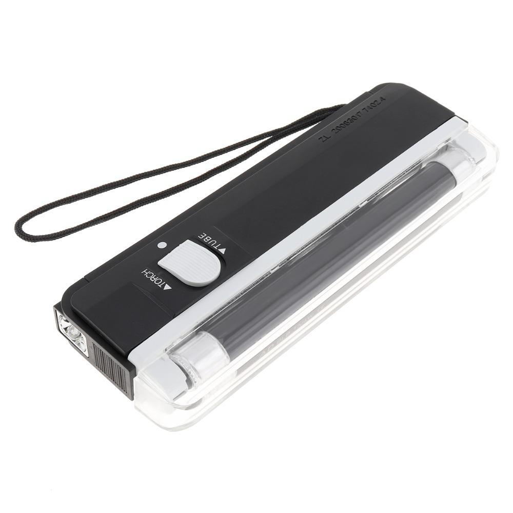 Handheld UV Black UV Light Torch Portable Blacklight LED Battery Powered Light