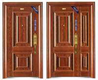 Steel material security doors with lock good quality