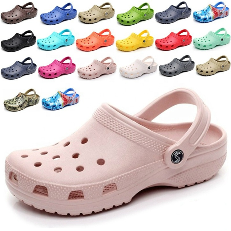 Wholesale Custom Summer Anti-Slippery Breathable Clog Shoes Clogs