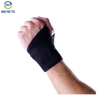 Wrist Wrap Sports Adjustable Support Control Strap Belt Brace Physio Pain Hand Hebei
