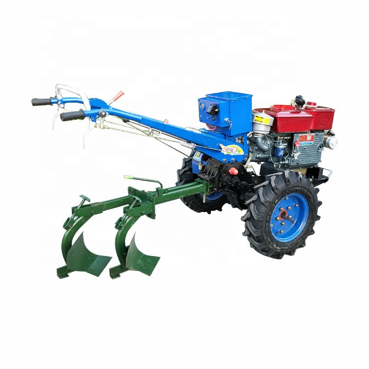 Cheap Mini farm tractor Changchai diesel engine 2WD driven 15hp walking tractor price