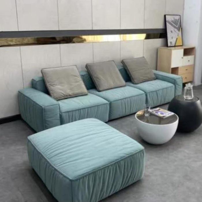 cheap fabric modular sofa set for apartment DIY modern sectional sofa couch  living room furniture set