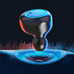100% original TWS Wireless Earphone Bluetooth 5.0 HiFi Stereo Headset Built-in HD Mic for iOS Android