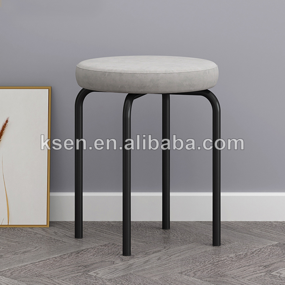 metal bar stool chair round KC-C0364