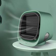 Многофункциональный мини портативный охладитель воздуха кондиционер вентилятор увлажнитель очиститель Usb Настольный резервуар для воды К...(Китай)