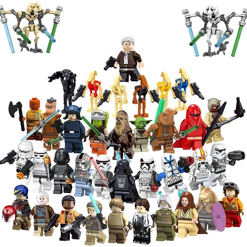 Stella Han Solo Chewbacca Il Aumento di Skywalker mini action figures Pong Krell Starwars legoes mini Blocchi di Costruzione wars Block