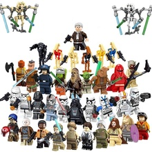 Star Han Solo Chewbacca The Rise of Skywalker mini action figures Pong Krell Starwars legoes mini Building Blocks wars  Block
