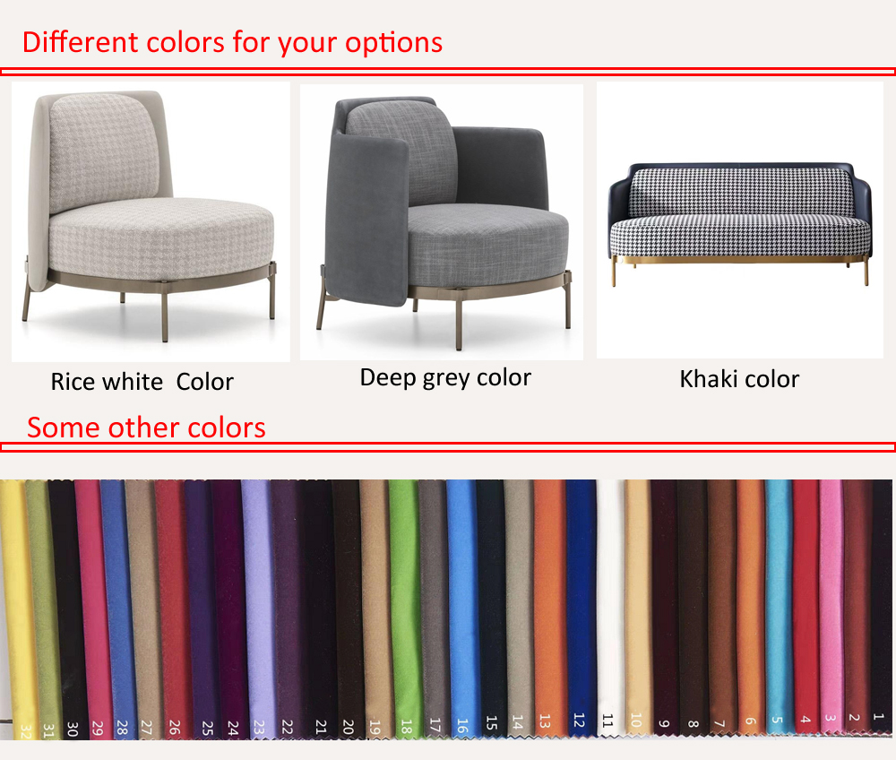 Modern relax gold leisure stainless steel Italy style luxury lounge furniture brass accent tape arm chair