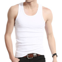 Oem Factory Summer vest Casual sports undershirt Men's fitness vest
