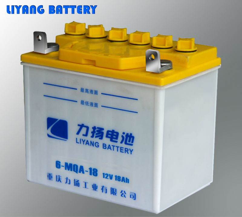 6-MQA-18 Dry Charged Three-wheeled motorcycle battery