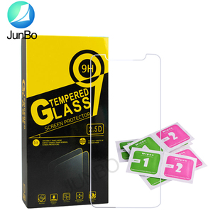 2.5D Clear Tempered Glass Screen Protector for iPhone 11 XS MAX XR 7/8 plus Phone Screen Protector