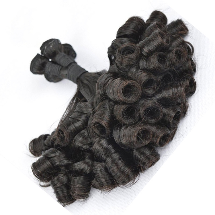 Unprocessed Virgin Hair ผม Curl Hair hair Extension