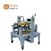 Semi-automatic Customized Milk Packaging Carton Sealing Machine Case Taper Machine