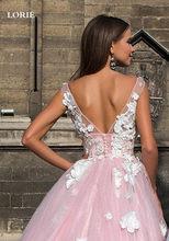 LORIE свадебное платье с кружевными цветами, глубокий v-образный вырез, без рукавов, богемные свадебные платья, Vestido De Novia, платья невесты на зак...(China)