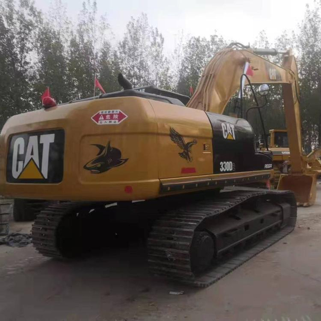 Hydraulic japanese made used 330d2 excavator/used japan cat 330d excavator 330b 330c 320b in hot sale in the yard
