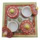 Indian Wholesaler Marble Gold Painted Articles