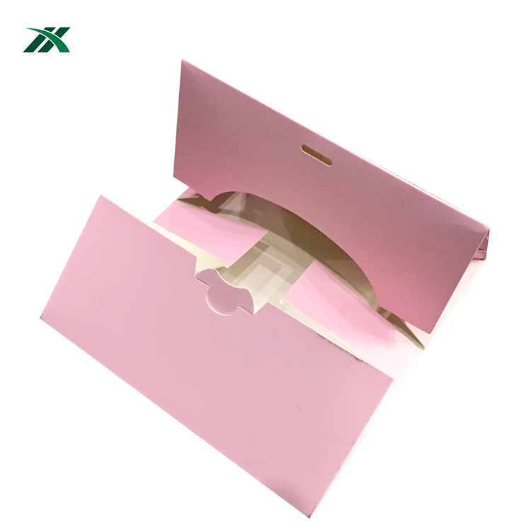 factory price luxury custom rigid cardboard gift cupcake box for sale