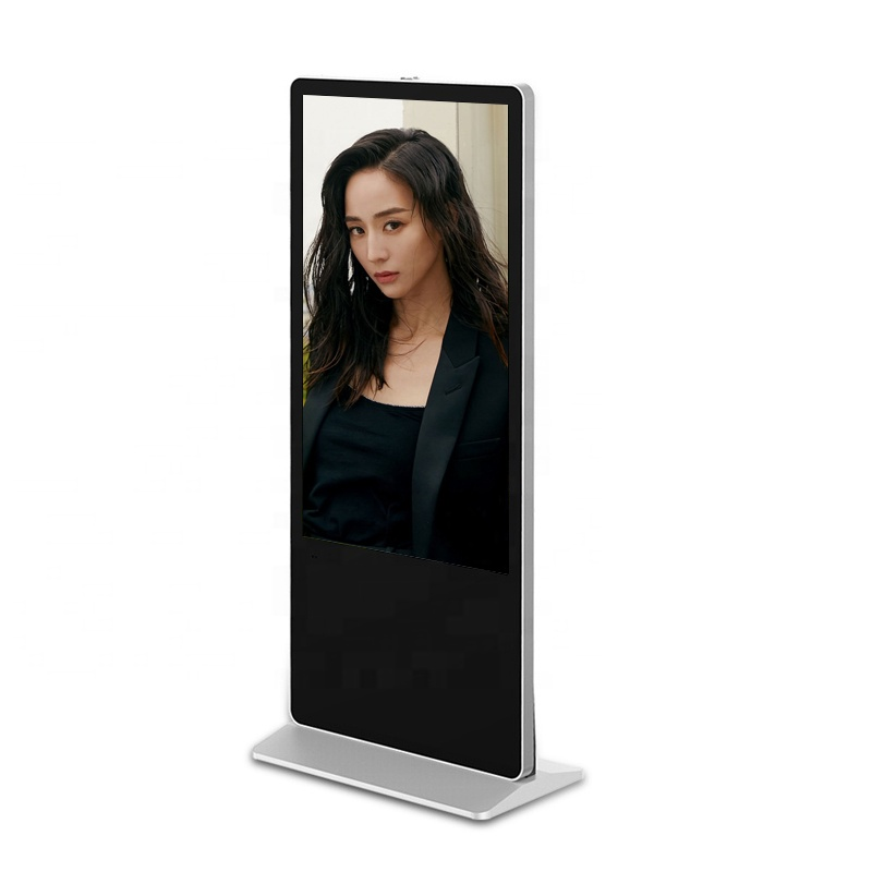 55 inch Full HD Floor Standing Advertising Media Player/lcd advertising kiosk Digital Signage for touch