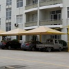 Car parking shade net/ Outdoor sun shade sail(TY-SSB611)