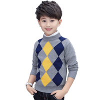 baby boy sweater designs rhombus pictures children knitwear 10years pullover