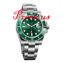 Pagani дизайнерские часы для мужчин 116610LV керамический зеленый ZZF Халк V2s 904L ремешок из нержавеющей стали A3135 move Men t Noob v10 AAA Реплика часов(Китай)
