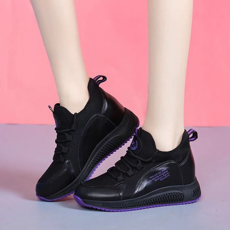 new models height increasing sports walking woman shoes new arrivals 2020