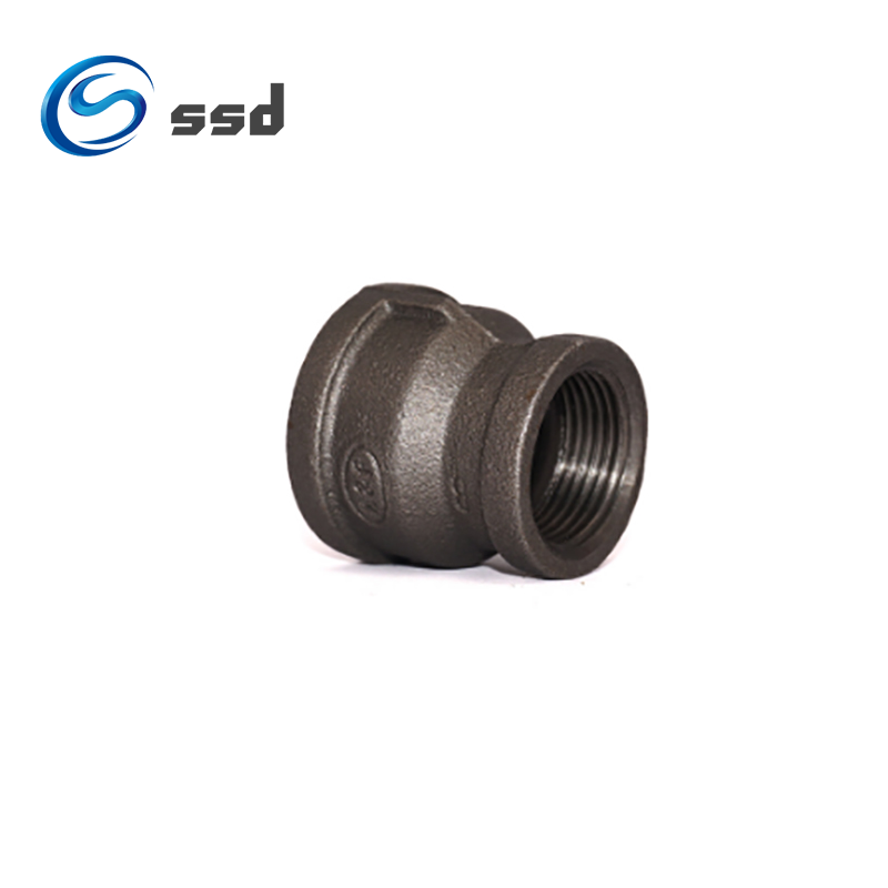 Black Cast Iron Malleable Iron Pipe Fitting Male Thread Plug  3/4inch industrial malleable cast iron npt pipe fitting plug