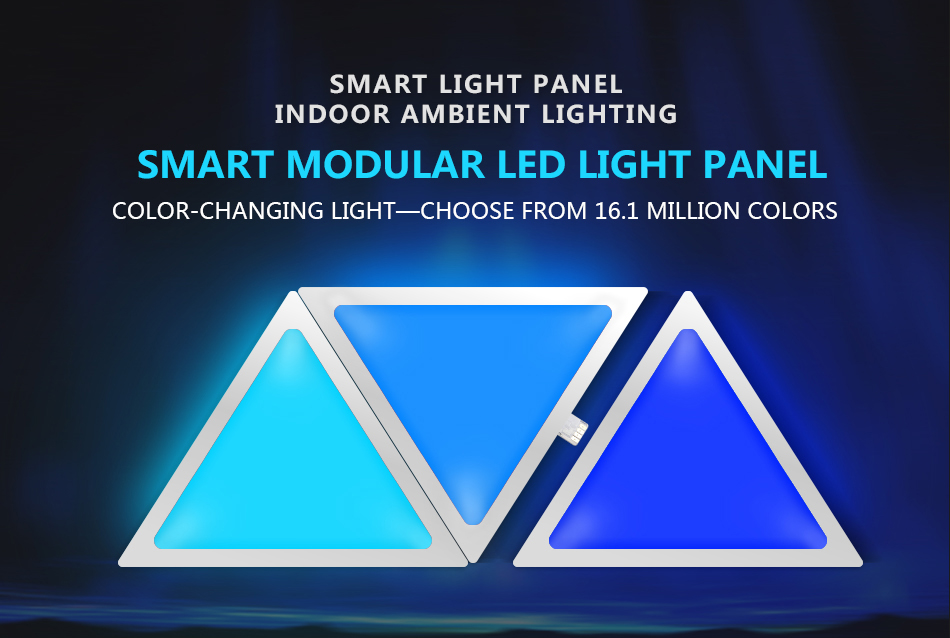APP Music Smart Phone Controller Smart LED Light Panel