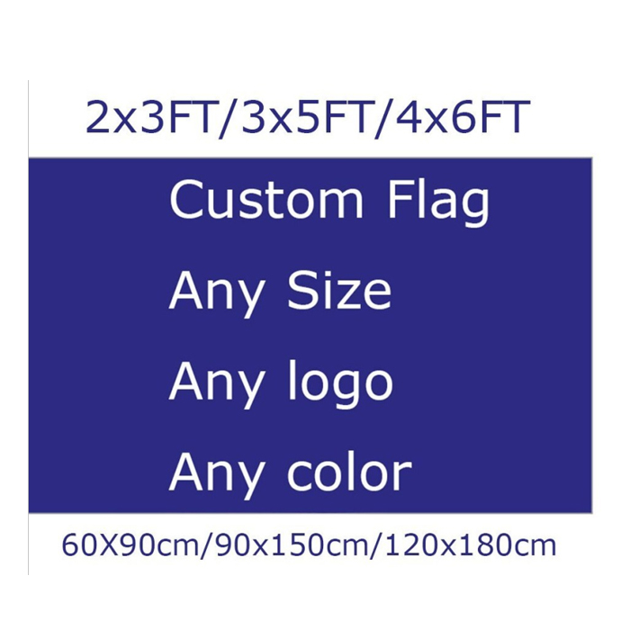 Outdoor All Countries Any Size Logo Color Digital Polyester Custom Printing 3x5 Flag