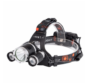 6000lm LED T6+2R2 Headlamp Headlight Head Lamp lighting Light Flashlight Torch Lantern Fishing +18650 battery+USB Charger