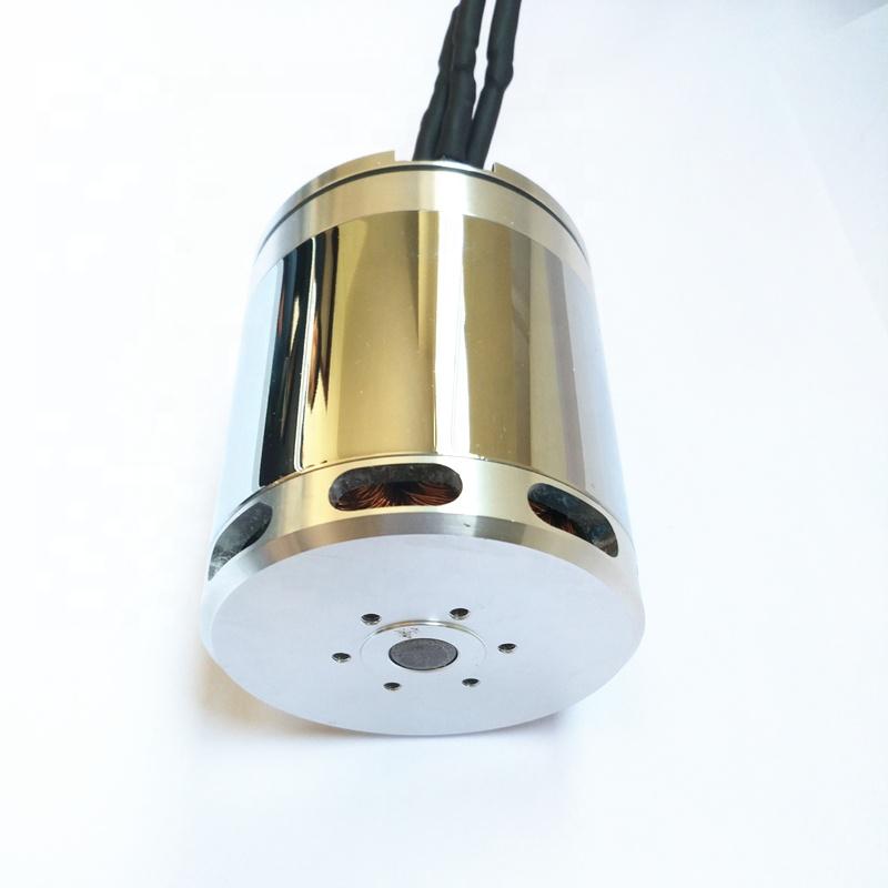 28 V 2000 W Brushless DC มอเตอร์ 5000 rpm แรงบิด 4Nm ไฟฟ้ารถ brushless DC มอเตอร์