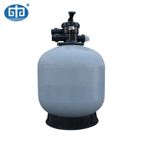 ZH-SGA-T16 top mounted swimming pool fiber glass sand filter