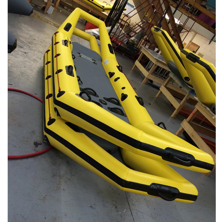inflatable ice water rescue raft rowing boat for sale