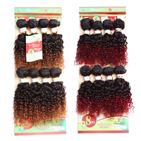 Best Selling Kinky Curl 8 inch Brazilian Human Hair Sew in Weave Hair Extensions
