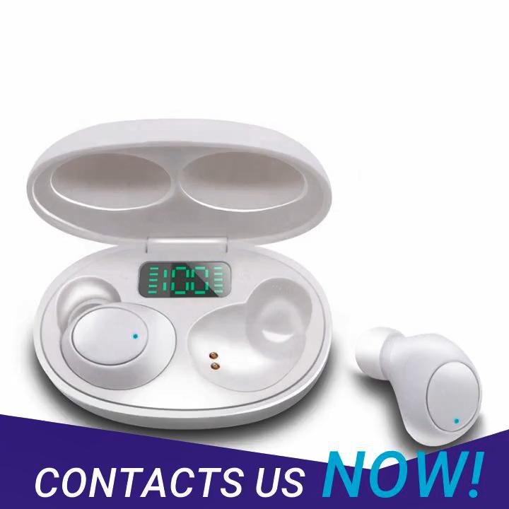 EBAY Venta caliente pantalla Digital LED inteligente Bluetooth 5,0 estéreo TWS J2 inalámbrica auriculares con caja de carga