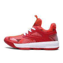 Удобные высокие баскетбольные кроссовки для взрослых и молодежи; модные кроссовки(Китай)