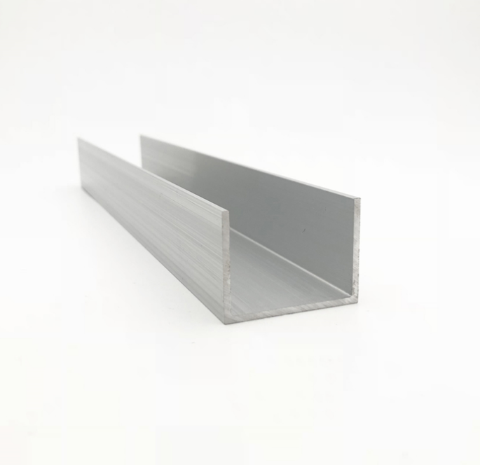 low price aluminum C channel and U channel profile