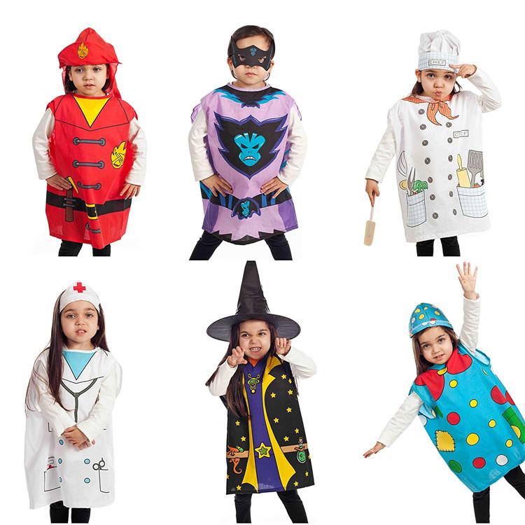 Occidentale divertente personaggio dei cartoni animati bella incantatore demone bambini di natale di halloween del partito del costume