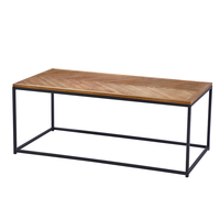 chevron tea table modern designs solid wood coffee table for living room home furniture