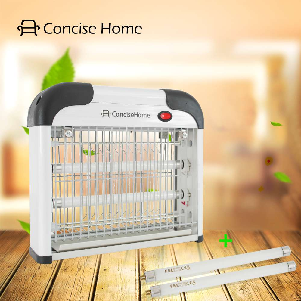 12W Electric UV Mosquito lamp Attract to Zap Playing Excellent Role as Bug Insect Zapper Fly Swatter Wasp Fly Killer