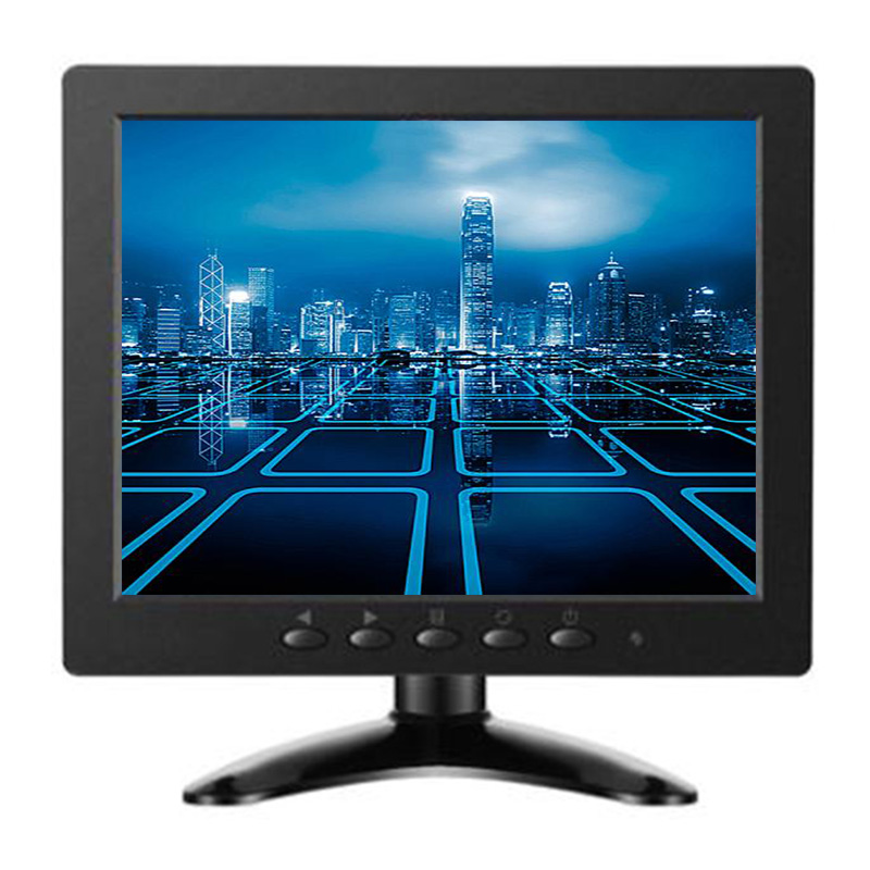 Factory wholesale TFT 8 inch monitor LCD camera display