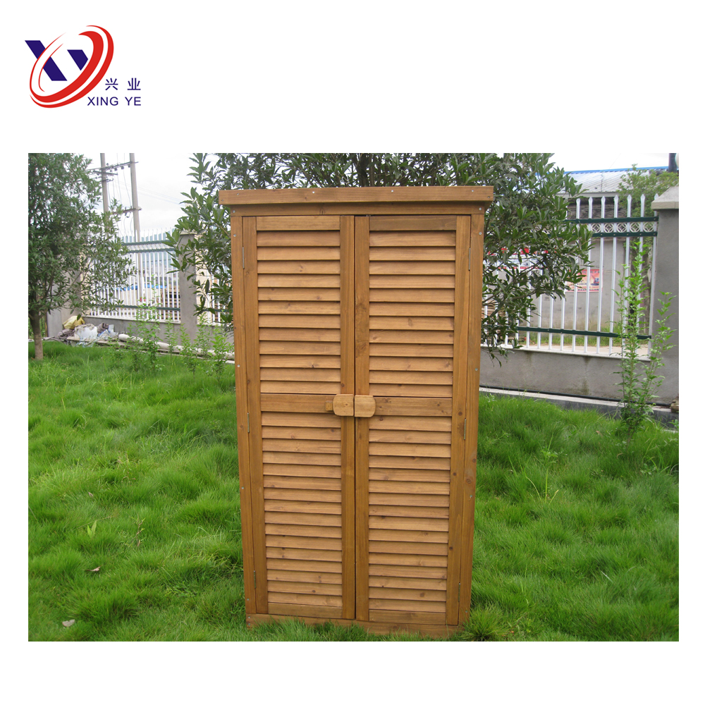 Garden Wooden Storage Cabinet / Outdoor Tools Shed OS003