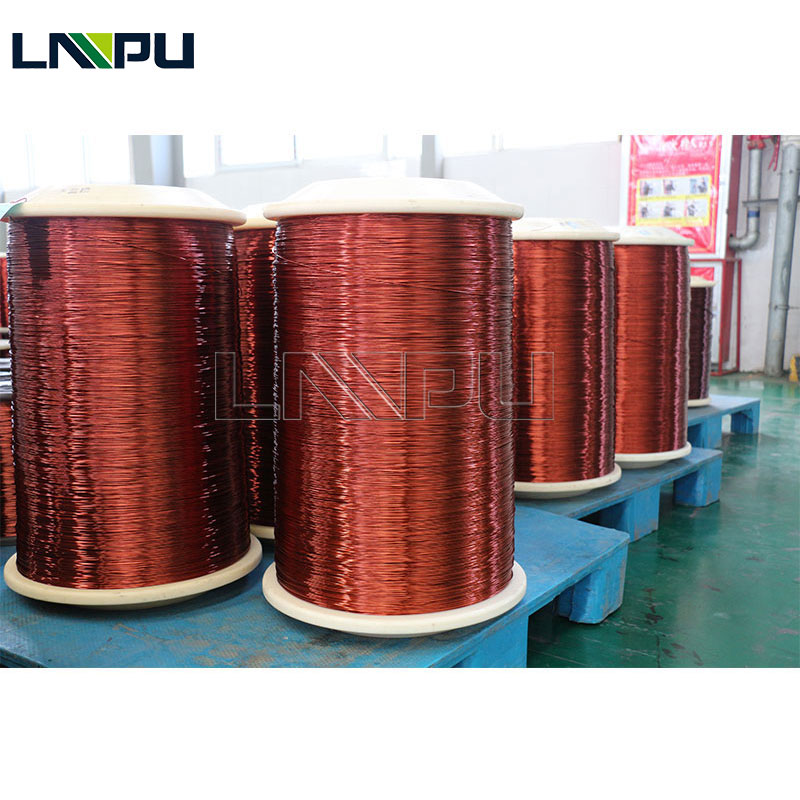 High Quality Enameled Round Copper Wire For Transformer 24 SWG Enameled Copper Wire