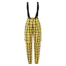 Groothandel hot selling <span class=keywords><strong>vrouwen</strong></span> plaids cargo broek dames causale <span class=keywords><strong>overalls</strong></span>