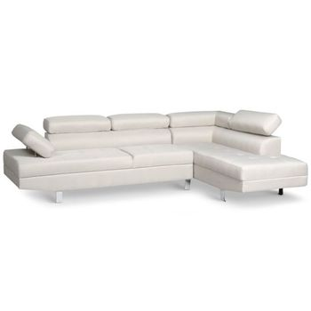 Leather Small L Shaped Sofa Couch
