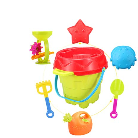 TT071128 Colorful <strong>Kids</strong> Summer <strong>Outdoor</strong> Set <strong>Toys</strong> Wholesale Sand Bucket Beach <strong>Toy</strong>